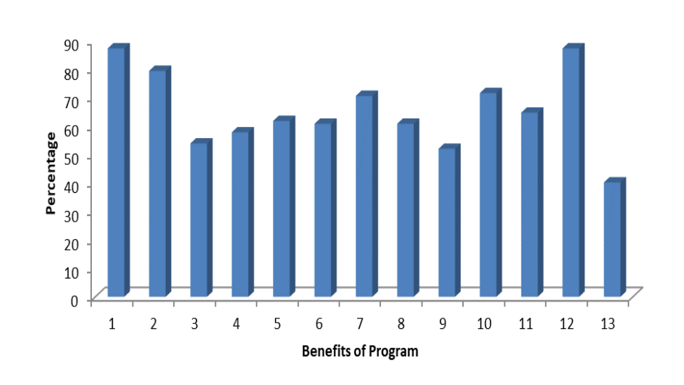 Benefits derived from Computer programs